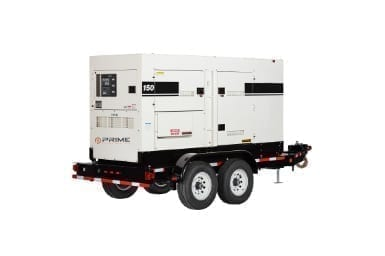 125kW Generator Rental