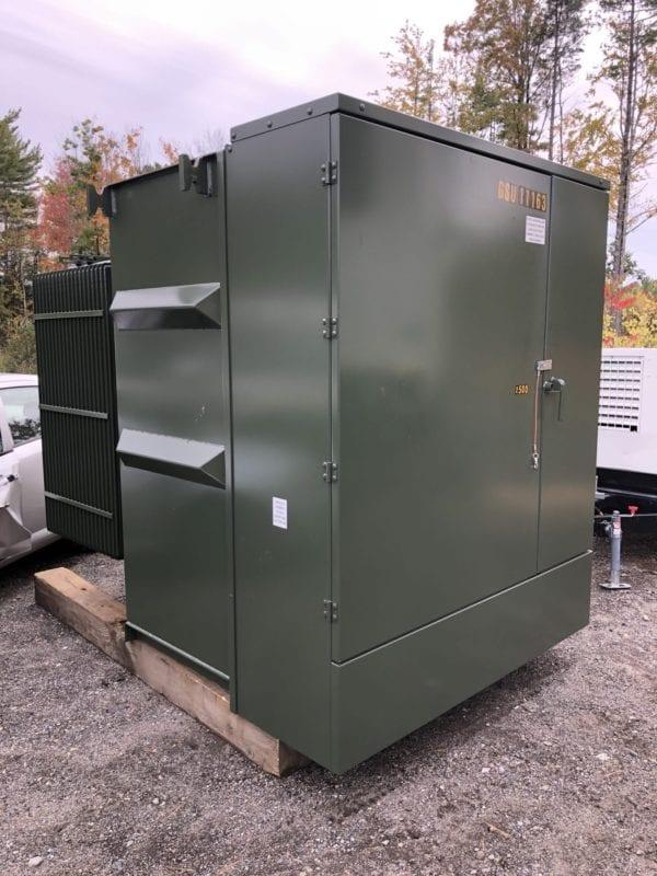 2500 KVA Transformer Rental - 4.16 KV /12.47KV 2