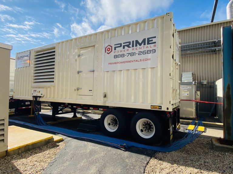 Power Plant Generator Rental Case Study